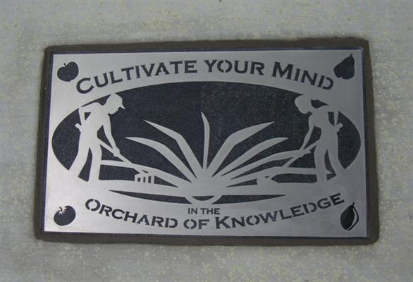 Public Art - Cultivate Your Mind in the Orchard of Knowledge - 5