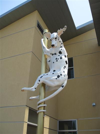 Public Art - The Spring-tailed Dalmation - 1