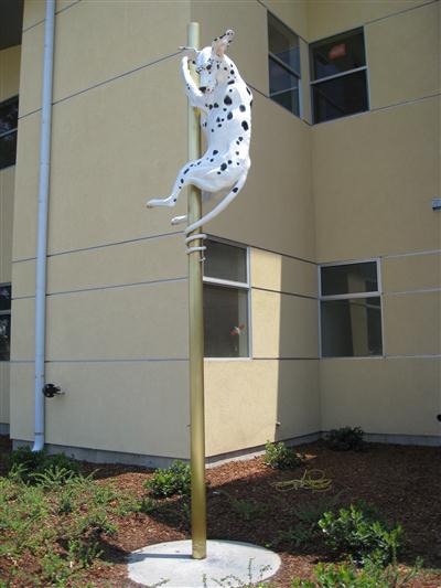 Public Art - The Spring-tailed Dalmation - 2