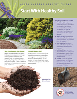 Sustainable Gardening Fact Sheet cover