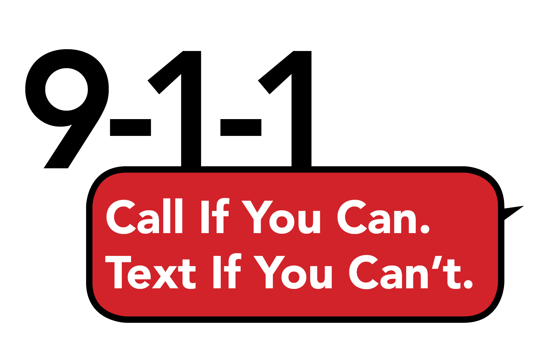 Announcement of Text to 9-1-1