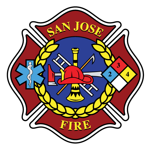 San Jose Fire Department logo