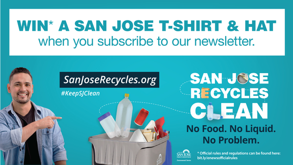 Subscribe To Our E-newsletter (The Loop) and Win a San José T-shirt and Hat!