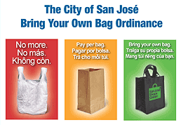 Bring Your Own Bag Ordinance Chart